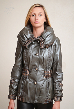 Higgs Leathers LAST ONE!  Delicio (ladies softest Designer Leather jackets)