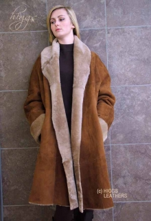 Ladies Sheepskin and Shearling Coats | Higgs Leathers Essex