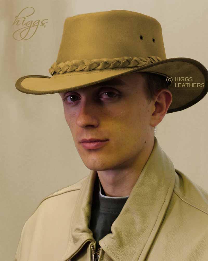Bushman Mens Leather Hats