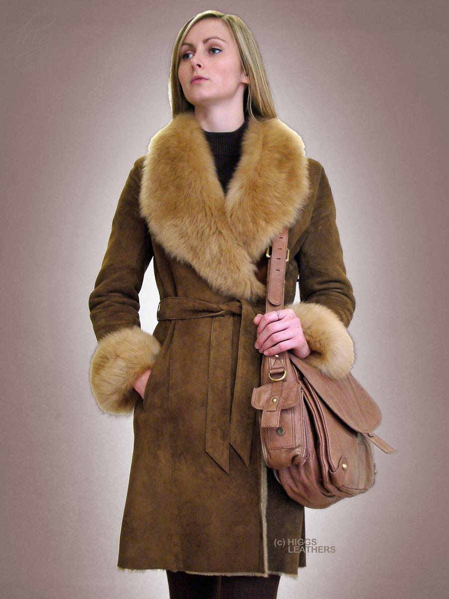 Sheepskin Coat Ladies Uk Sm Coats