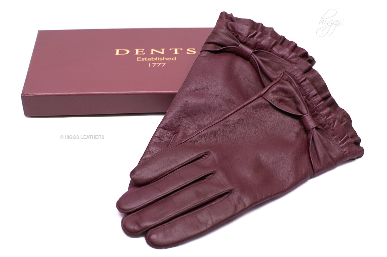 Buy ladies leather gloves online - Style 74003 Ladies Pleated Wrist Leather Gloves