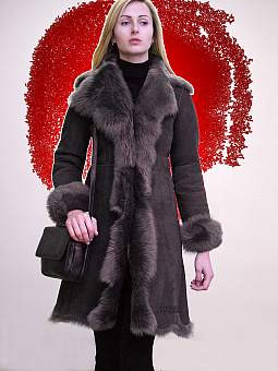 Higgs Leathers Angela (ladies fitted Toscana Shearling coat)