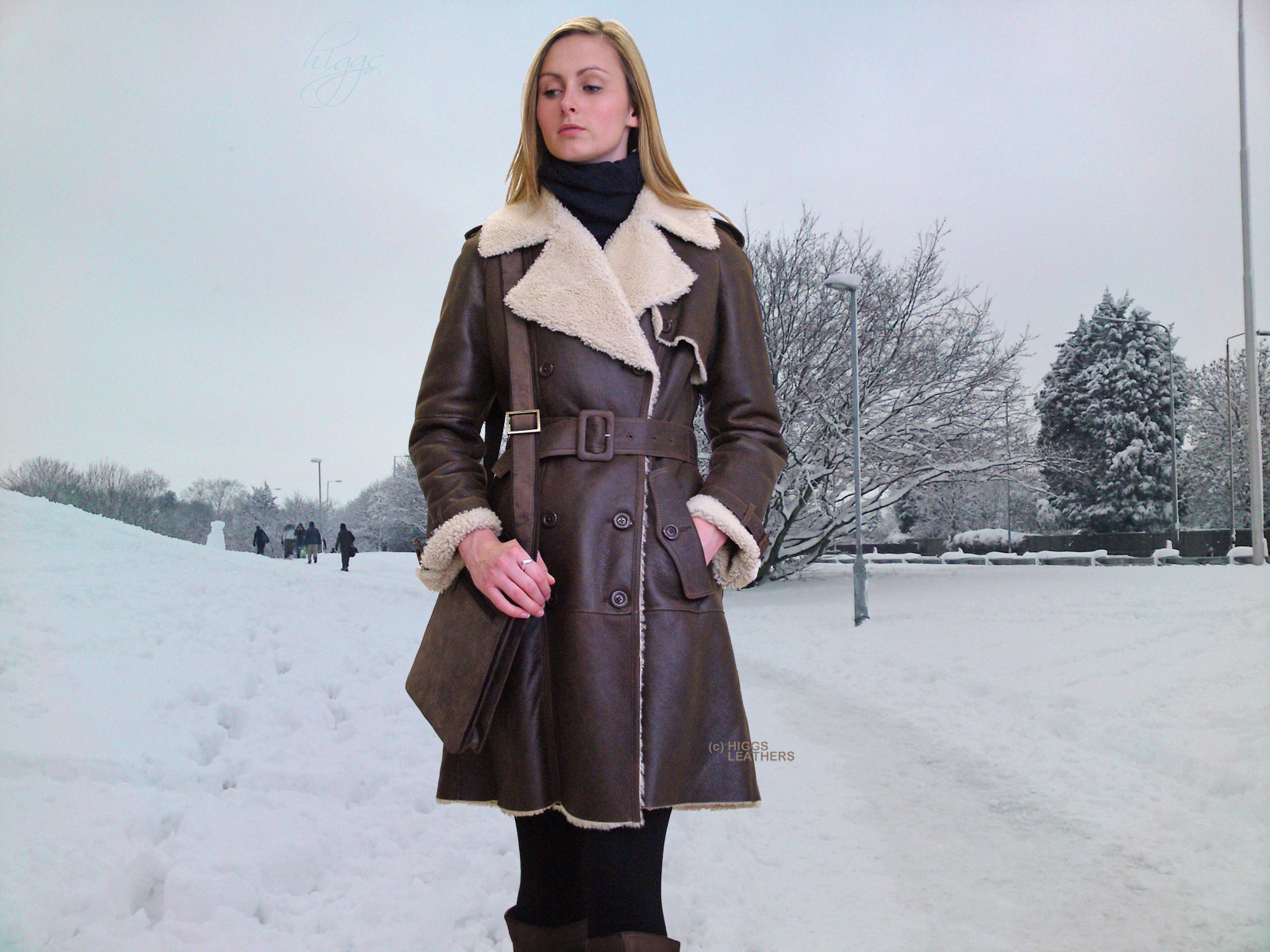 Sheepskin jackets for women