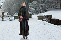 Higgs Leathers ONE ONLY SAVE £500!  Justine (ladies Merino Shearling coat)