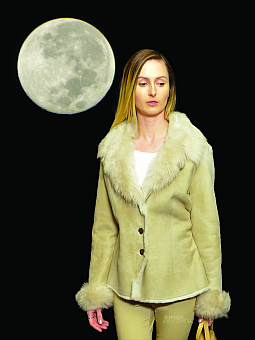 Higgs Leathers HALF PRICE SAVE £350!  Connie (Merino and Toscana shearling jacket)