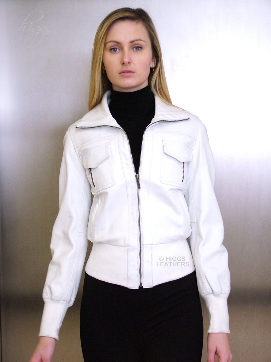 Higgs Leathers | Buy UNDER HALF PRICE Washelle (ladies white ...