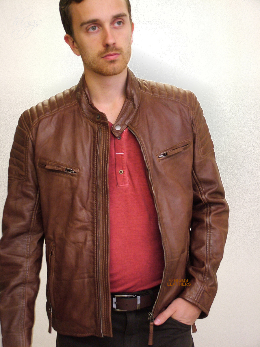 Leather Junction Mens Leather Jacket A122