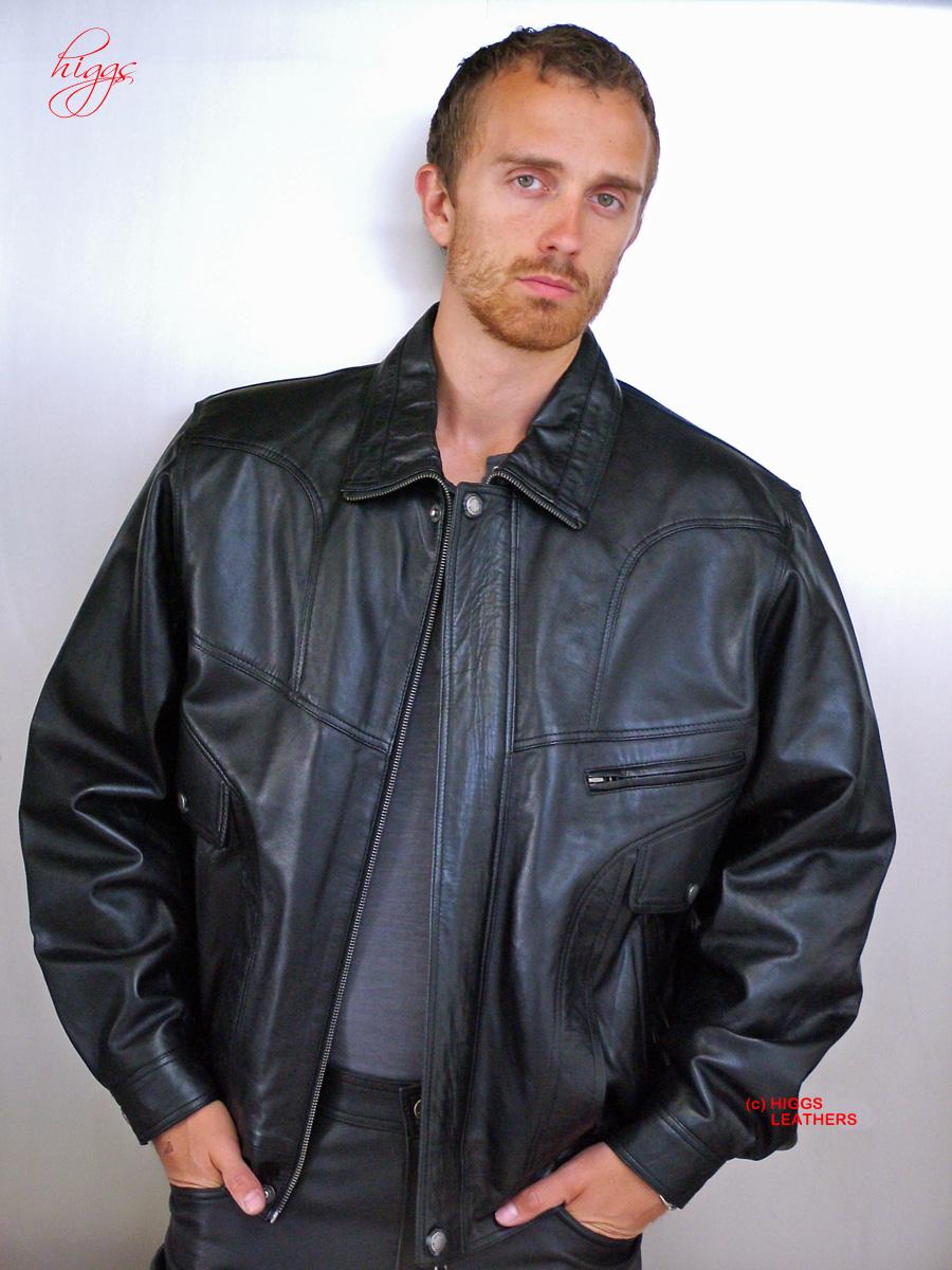 Higgs Leathers | Buy FEW ONLY Jerry (blouson style men's ...