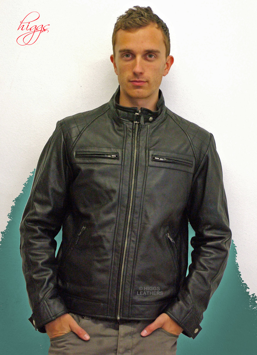 Higgs Leathers Alonzo (men s Designer Leather Biker jackets