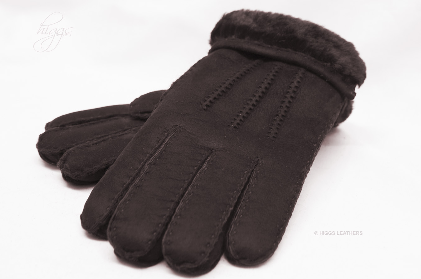 Mens sheepskin gloves uk - Glen Men S Dark Brown Sheepskin Gloves Super
