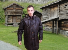 Leather Parka and Duffle coats for men | Higgs Leathers Essex