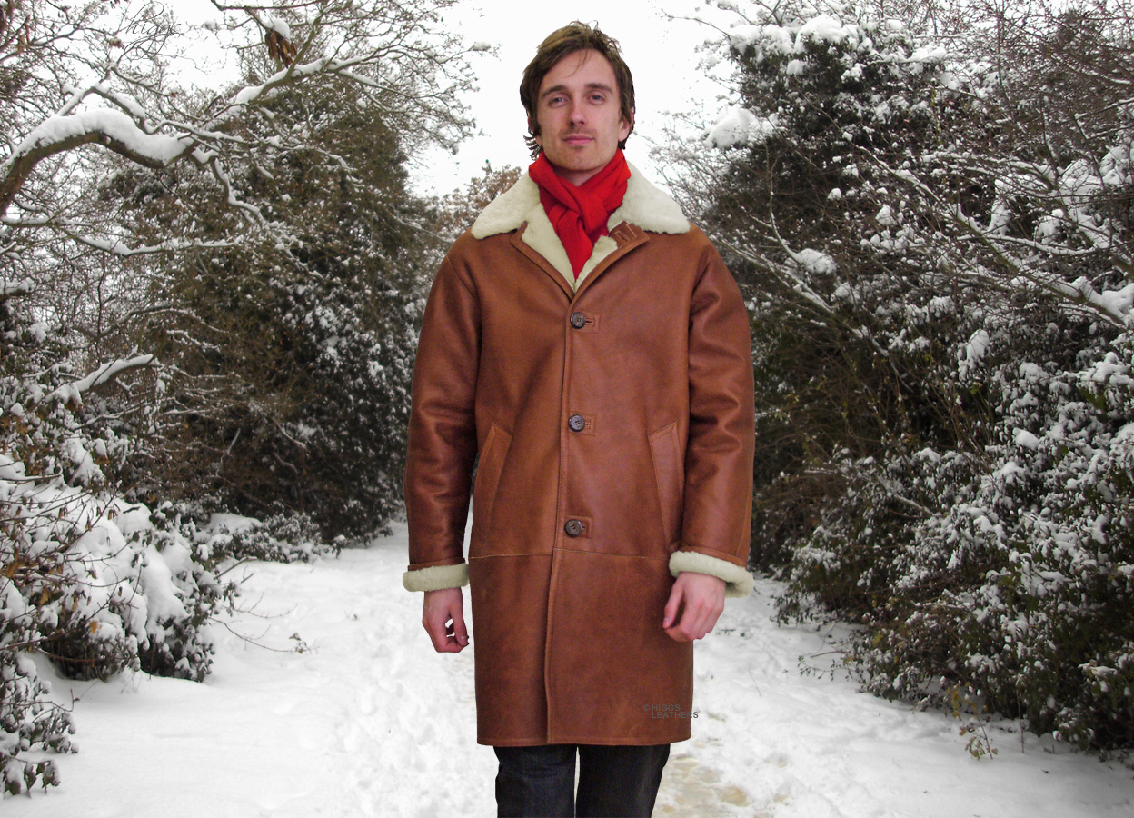 Higgs Leathers | Buy Rockford (Men's long Nappa Sheepskin coats ...
