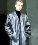 Higgs Leathers Mens Long Leather Coats