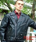 Higgs Leathers Leather Biker Jackets for men
