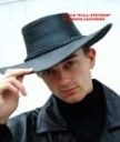 Higgs Leathers Mens Leather Hats