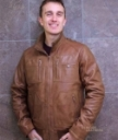 Higgs Leathers Leather Bomber Jackets for men