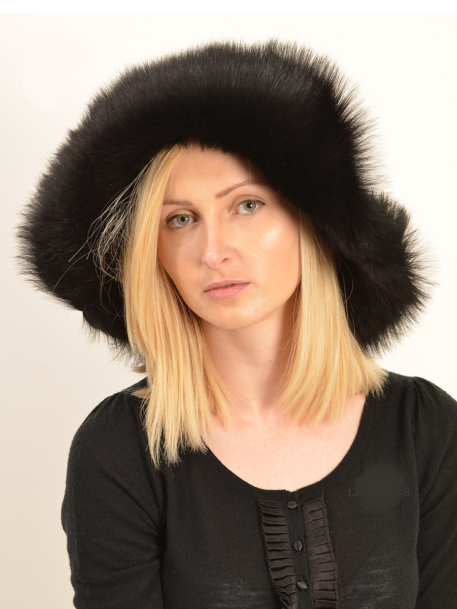 francescan womens designer black toscana hats