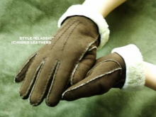 Higgs Leathers Hand Stitched Gloves (Ladies Merino Lambskin gloves) ALL SOLD!