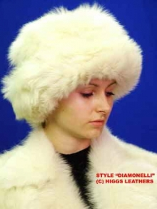 Higgs Leathers LAST FEW!  Diamonelli (Ladies Toscana Shearling hats)