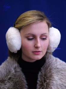 Higgs Leathers LAST FEW HALF PRICE!  Earie (ladies Sheepskin ear muffs)