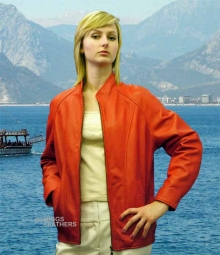 Higgs Leathers Anne (women's leather blouson jackets) ALL SOLD!