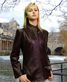 Higgs Leathers TWO ONLY HALF PRICE! Tabatha (women's long leather biker jacket)