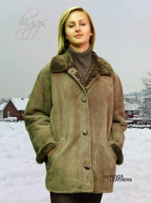 Higgs Leathers Boxy (ladies classic style Shearling jacket)