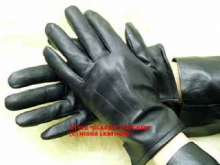 Higgs Leathers Chatham (Men's black leather gloves)