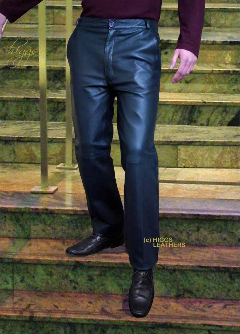 cheap for sale wide selection of colors first look Leather Trousers for men | Higgs Leathers Essex
