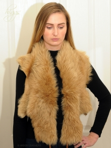 Higgs Leathers ONE ONLY SAVE £30!  Collette (ladies Toscana Shearling collar/scarf)