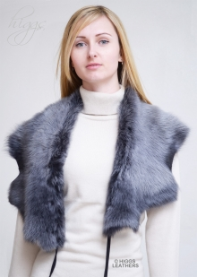 Higgs Leathers Collette (ladies Toscana Shearling collar/scarf)