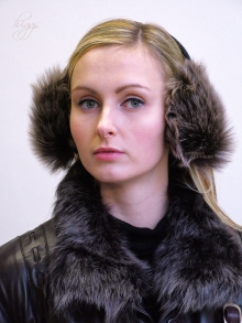 Higgs Leathers Ebbie (ladies Toscana Lambskin ear muffs) ALL SOLD!