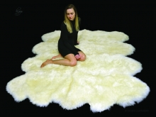 Higgs Leathers NEW!  Mayfair (extra large luxury Sheepskin Rug)