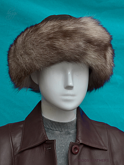 Higgs Leathers FEW ONLY! Ivanette  (Higgs Original ladies leather hat)