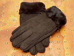 Higgs Leathers {Sizes S-M-L-XL}  Chepstow (women's Sheepskin gloves) Wonderfully Warm!