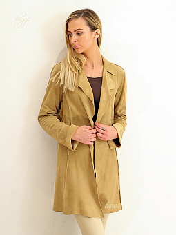 Higgs Leathers ONE ONLY SAVE £120!  Schula (ladies Kidskin Suede Stroller jacket)