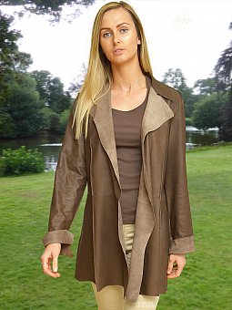 Higgs Leathers SOLD!  Schula (ladies Nappa Leather Stroller jacket)
