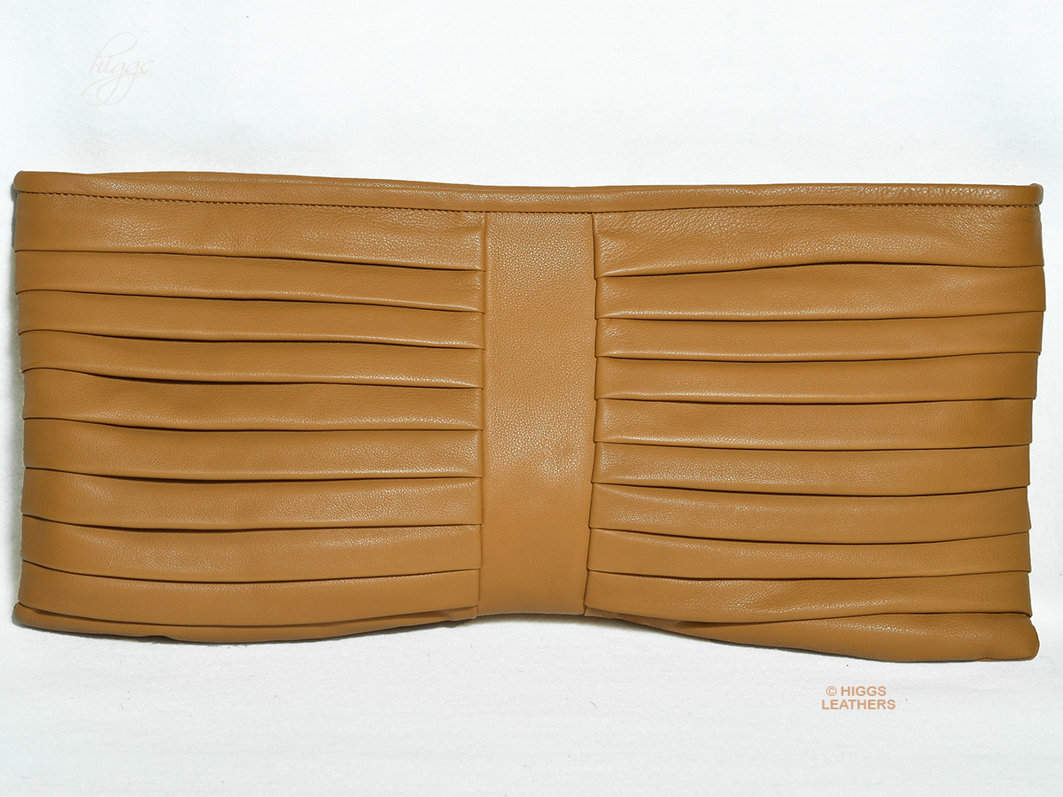 Higgs Leathers {HALF PRICE SAVE £170!}  Moritz (ladies Designer leather clutch bag)