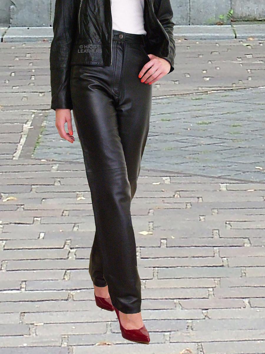 355e8dfa766 Higgs Leathers Jenetta (ladies HOME MADE Leather jeans)