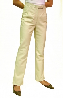 Higgs Leathers HALF PRICE SAVE £98!  Tracey (ladies leather bootleg trousers)