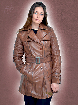Higgs Leathers LAST FEW UNDER HALF PRICE!  Toulouse Latrench (Leather Trench coat)