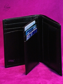 Higgs Leathers ALL SOLD!  Ashover (tri fold leather wallets)