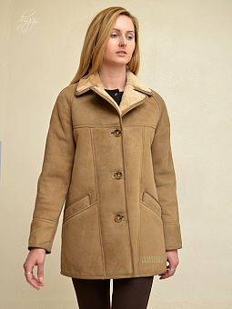 Higgs Leathers {SAVE £100!}  Andreana (ladies classic Shearling coat)