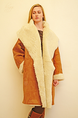 Higgs Leathers Caroline (ladies Merino Shearling coat)
