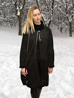 Higgs Leathers UNDER HALF PRICE SAVE £600!   Marie (Merino Shearling coat)