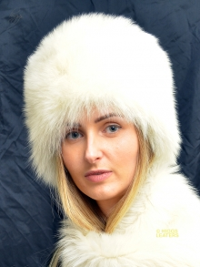 Higgs Leathers FEW ONLY!  Coralita (ladies Champagne Toscana Full Cossack hat)