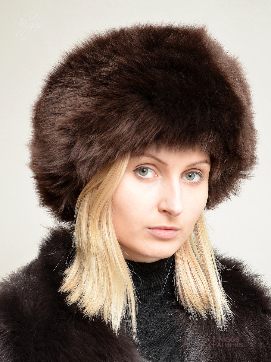 Higgs Leathers Diva (ladies Brown Sheepskin Cossack hats) c070264216a