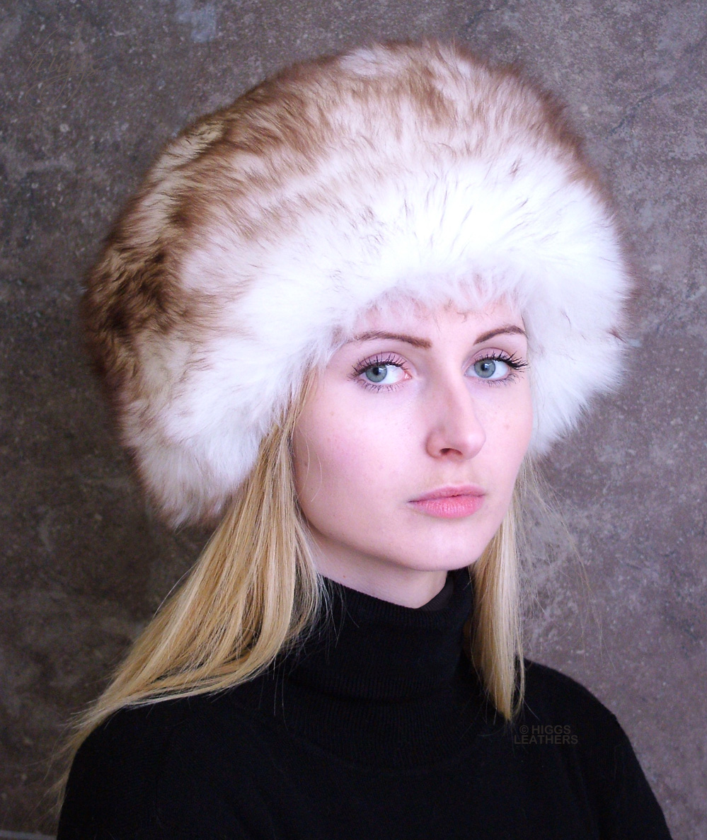 Higgs Leathers Diva (ladies Sheepskin Cossack hat)