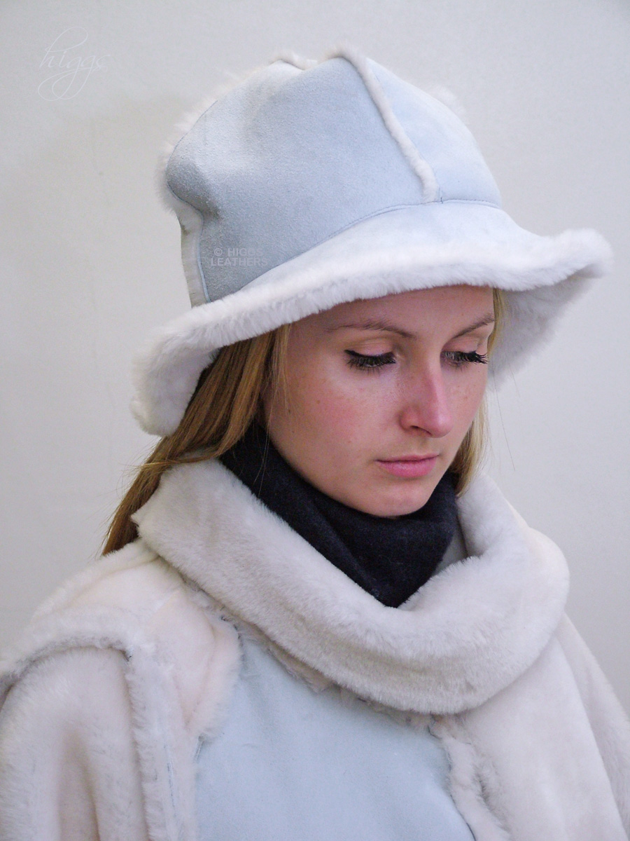 Francesca (ladies soft brim Sheepskin hats) ff7be4fde19