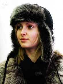Higgs Leathers HALF PRICE!  Zhivago (ladies Russian Ear Flaps hats)